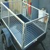 6'*4'*2' galvanized trailer cage/cage 6x4 trailer