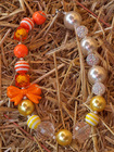 Halloween necklace, Children's Chunky Bubblegum Bead Necklace for Girls, Toddler, Baby