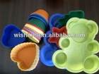 100% food grade silicone cake mould with FDA&LFGB certificated