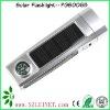 5 LED plastic solar torch