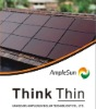 100W BIPV thin film amorphous silicon solar panel