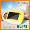 Universal Cell Phone Solar Charger with Flashlight