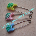 Hot Selling Animal Head Baby Diaper Pin