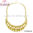 Extravagance Gold Plating Costume Necklace For Ladies - PYNK6188