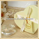 Clear Crystal Sea Shell for Baby Shower Souvenirs