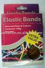 Color box rubber band