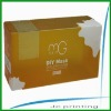 personal care clear plastic box