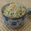 Wet Green tea Noodle(pasta)