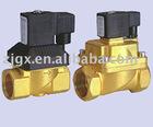 solenoid pilot actuated valve