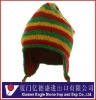 Fashion 100% wool cap