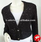 Ldies korea fashion short sweater coat