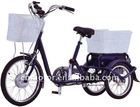 Electric Tricycle with big basket
