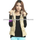 OEM hot sale fashion knit wool vest for ladies