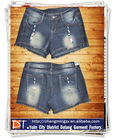 2012 hot sell ladies shiny shorts