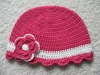 Boutique Handmade Crochet Beanie Hat Pattern for Babies,Girls or Adults (81366)