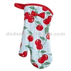 100 cotton printed heat resistant cartoon oven mitt and kitchen potholder