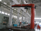BZ and BZD Model swing arm type rotate electric jib crane