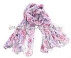 spring lady scarf