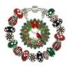 Wholesale European Christmas charm beads bracelets jewelry