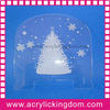 Acrylic christmas decorations
