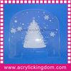 Acrylic christmas decorations