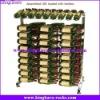 KingKara KAWR0154 Fully Assembled 30 Bottle Wine Rack