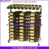KingKara KAWR0154 Fully Assembled 30 Bottle Wine Rack