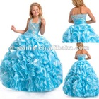 FG-048 Lovely halter neckline angel dresses flower girls dress 2013