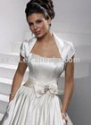 Cap sleeve bridal wedding bolero satin SL-94