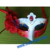 Hot Sell Party Mask with Red Flower and Diamond