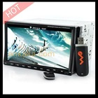 2-DIN in Dash car DVD player Compatible with top GPS software
