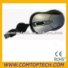 optical retractable mouse, USB wired mouse