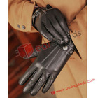 Leather Touch Screen Gloves! Wholesale Women Universal Genuine Leather Touch Screen Glove iGloves for iPhone Smartphone