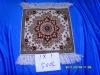 Traditional Persian Silk Carpet