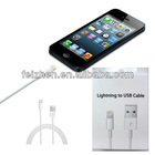 8pin lighting charge cable ,For Iphone 5 cable and Nano