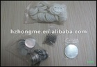 Round pin button badge material of 44mm