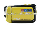 popular style and best selling 3 inch LCD screen 1080P underwater camcorder HDDV-F901c