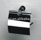 bathroom paper holder with cover
