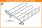 Metal Tie Rack; Clothes Hanger;oval clothes hanger/rack
