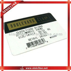 paper customized barcode labels for t-shirts,shorts,pans,other garments