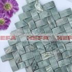 XMD007J1,light green art mosaic tile
