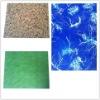 colorful series plastic floor tile