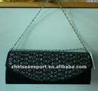 shinny PU evening dress bag