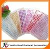 mixed colors adhesive rhinestone stickers