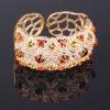 Fashion rhienstone/crystal alloy bangles