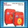 smiling ABS waterproof trolley case/trolley luggage/kids abs trolley case