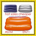2011 Comfortable Cheaper plastic pvc Inflatable beach pillow