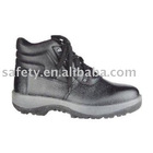 Buffalo leather PU inection steel toe steel sole leather work shoes CE EN20345