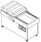 DZ600/2SE Double-chamber vacuum packer(concave )
