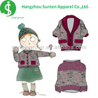 2013 newest fashion and new arrival winter sweater designs for kids